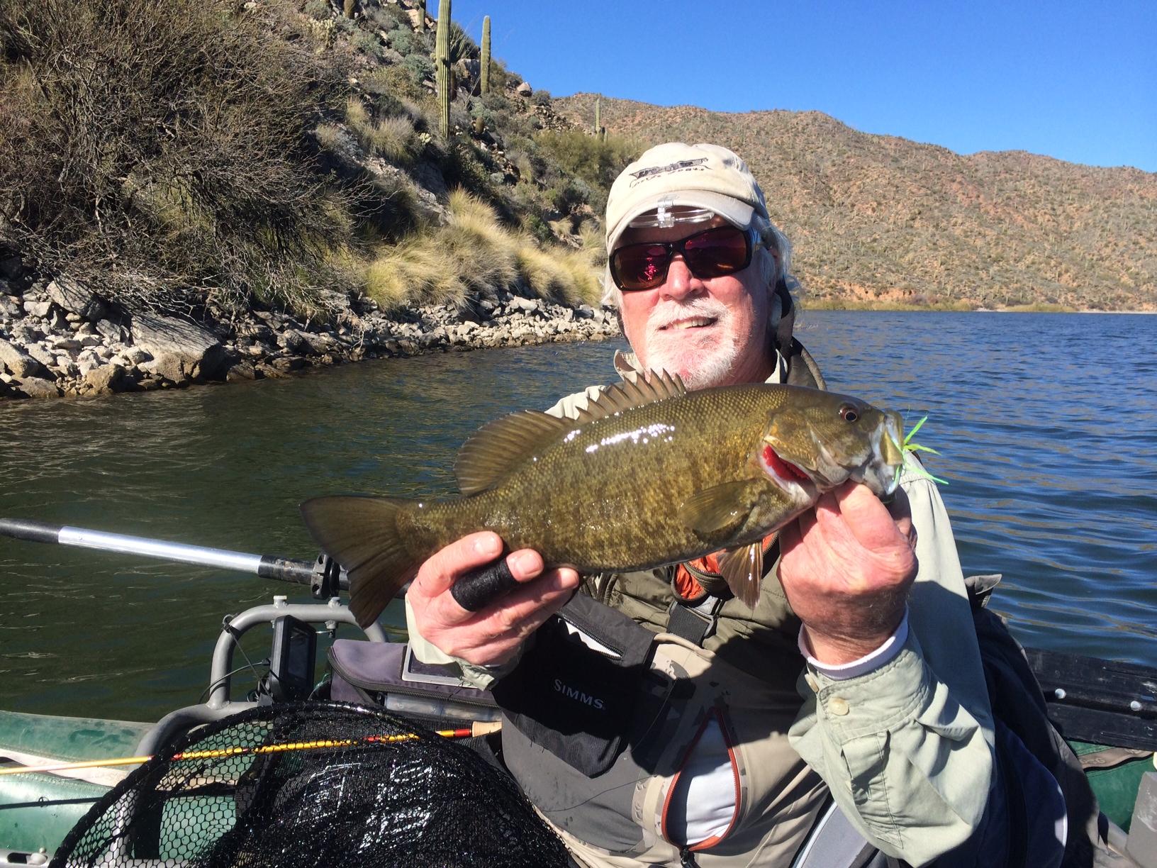 The arizona fly fishing wall apache for Arizona fly fishing