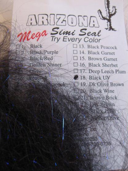 Image of AZ Mega Simi Seal Black UV
