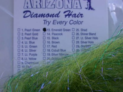 Image of Arizona Diamond Hair - Emerald Green