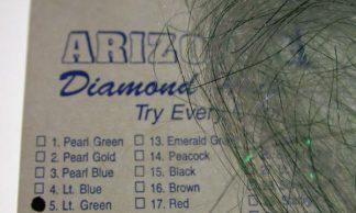 Image of Arizona Diamond Hair - Light Green