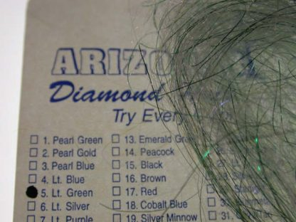 Image of Arizona Diamond Hair - Light Green