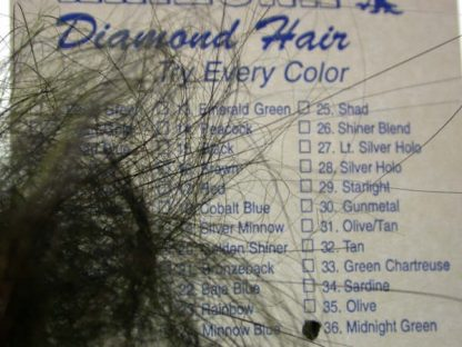 Image of Arizona Diamond Hair - Midnight Green