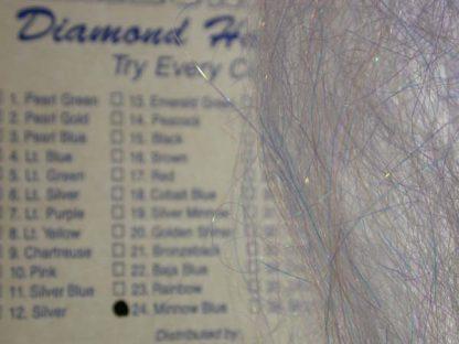 Image of Arizona Diamond Hair - Minnow Blue