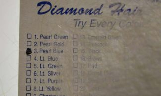 Image of Arizona Diamond Hair - Pearl Blue