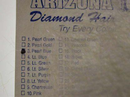 Image of Arizona Diamond Hair - Pearl Blue