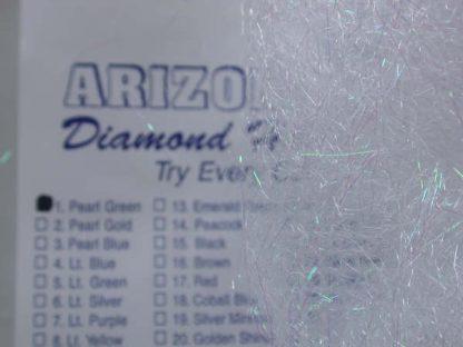 Image of Arizona Diamond Hair - Pearl Green