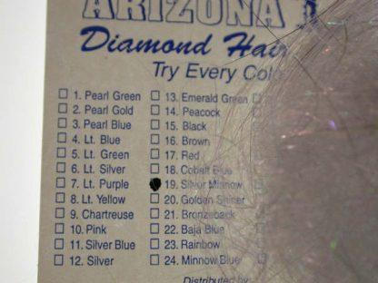 Image of Arizona Diamond Hair - Silver Minnow
