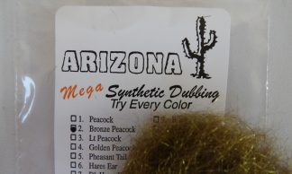 Image of AZ Mega Synthetic Dubbing Bronze Peacock