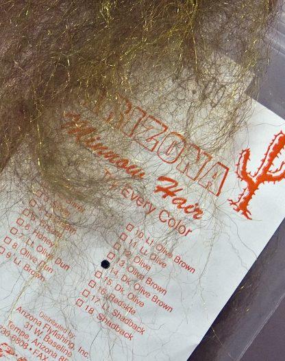 Image of Arizona Minnow Hair - Dark Olive Brown