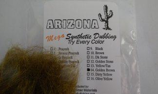 Image of AZ Mega Synthetic Dubbing Golden Brown