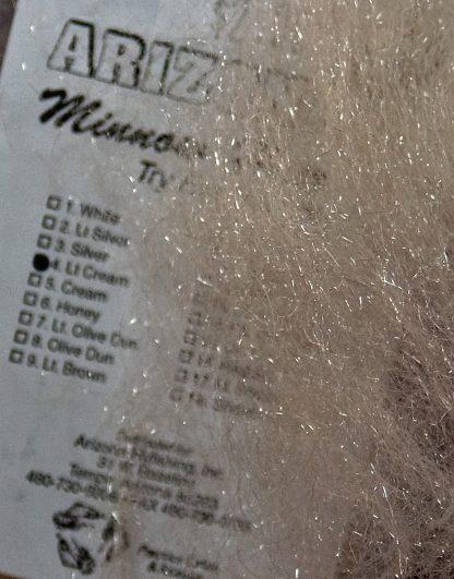 Image of Arizona Minnow Hair - Lite Cream