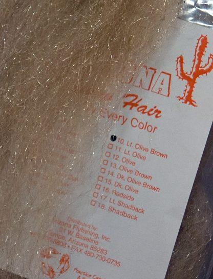 Image of Arizona Minnow Hair - Lite Olive Brown