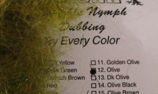 Image of AZ Sparkle Nymph Dubbing Olive