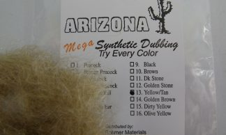 Image of AZ Mega Synthetic Dubbing Yellow/Tan