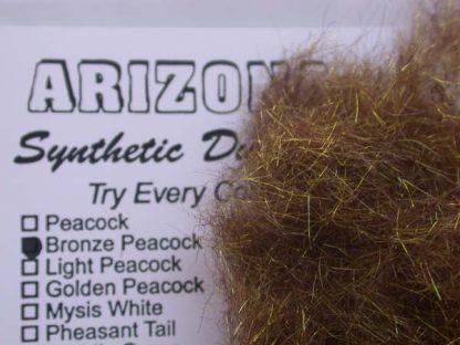 Image of Arizona Synthetic Dubbing - Bronze Peacock