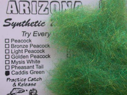 Image of Arizona Synthetic Dubbing - Caddis Green
