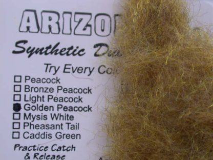 image of Arizona Synthetic Dubbing - Golden Peacock