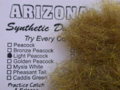Image of Arizona Synthetic Dubbing - Light Peacock