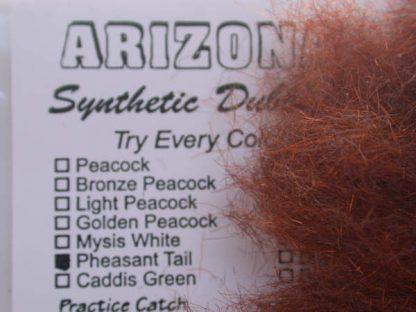Image of Arizona Synthetic Dubbing - Pheasant Tail