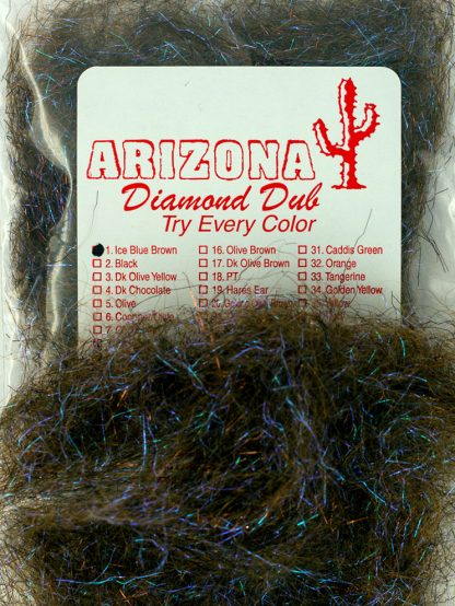 Image of Arizona Diamond Dub - Ice Blue Brown