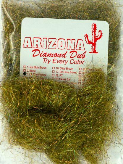 Image of Arizona Diamond Dub - Dk Olive Yellow