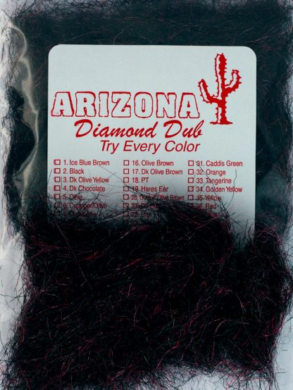 Image of Arizona Diamond Dub - Black Red