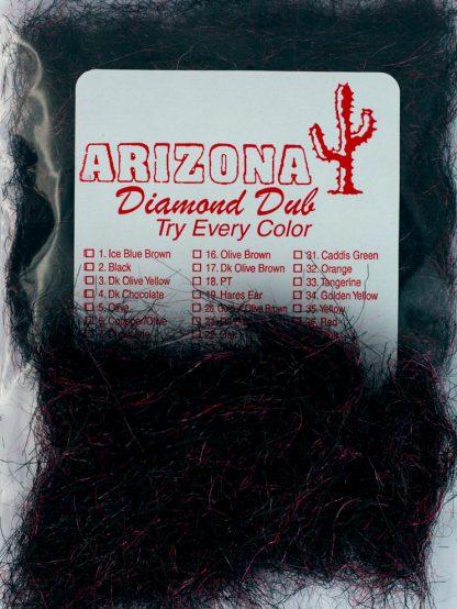 Image of Arizona Diamond Dub - Black Red