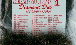 Image of Arizona Diamond Dub - Dk Copper Mocha