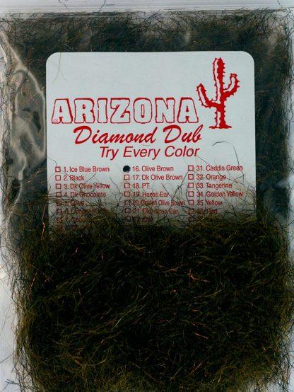 Image of Arizona Diamond Dub - Olive Brown