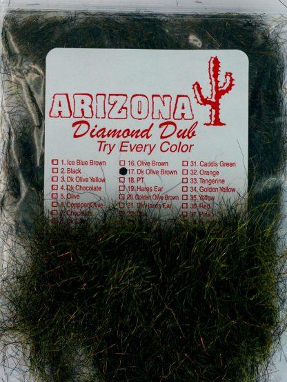 Image of Arizona Diamond Dub - Dk Olive Brown