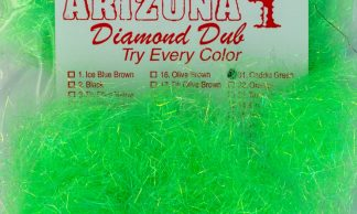 Image of Arizona Diamond Dub - Caddis Green