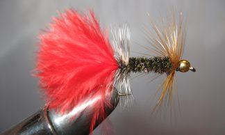 Image of Beadhead AZ Peacock Bugger #8