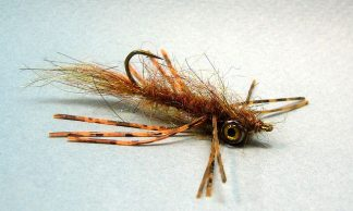 Image of Rubber Leg Bass Leech Canadian Brown