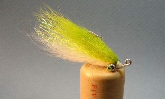 Image of Foxy Minnow Chartreuse/White