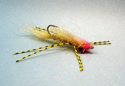 Image of Rubber Leg Bass Leech Pink/Amber Olive